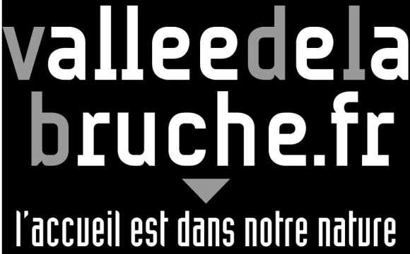 Logo - Office de Tourisme de la Vallée de la Bruche / Noir & Blanc