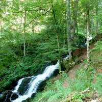 Cascade de la Serva. Crédit photo :  Office de tourisme de la vallée de la Bruche