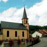 L'église Saint-Nicolas à Colroy la Roche