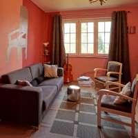 Petit salon rose