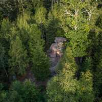 La porte de pierre sur les hauteurs de la Vallée de la Bruche
