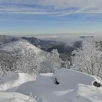 Paysages Vallée de la Bruche - hiver au Donon