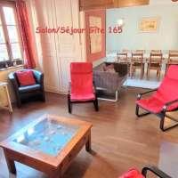 Location Clémentine - Salle à manger vers living