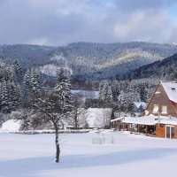Hiver. Chalet des 3 pins © Marie Odile COLINMAIRE