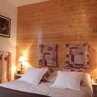 Chambre Evasion. Chalet des 3 pins © Marie Odile COLINMAIRE