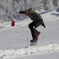 Le Champ du Feu en hiver. Le CDF park.