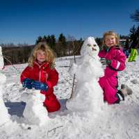 Le Champ du Feu en hiver. Crédit photos : Massif des Vosges / Thomas Devard