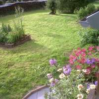 Location Clémentine - jardin vu de la terrasse