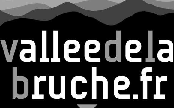 Logo - Vallée de la Bruche / noir & blanc