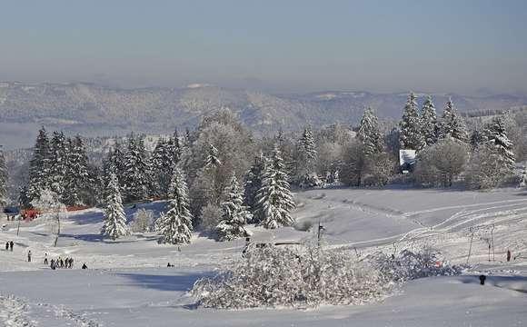 La vallée en hiver