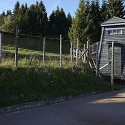 Le site de l'ancien camp de concentration du Struthof